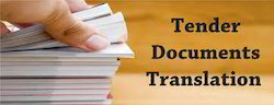 Tenders Translation Services