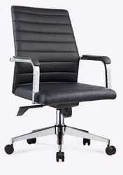 Office Revolving Visitor Guest Leatherette Chair