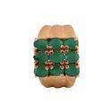 Emerald Synthetic Fancy Rings