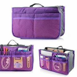 Purple Hand Bag Organizer