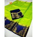 Kanjivaram Loving Peacock Saree