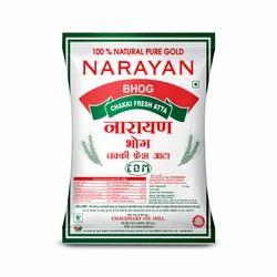Narayana Bhog Chakki Fresh Atta Packing Bag