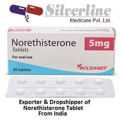 What is norethisterone tablets used for