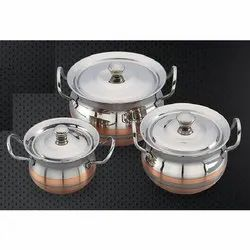 Ajanta Copper Cookware Set