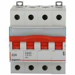 Legrand 4 Pole MCB Isolator