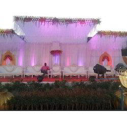 Wedding Flower Ceiling Tent