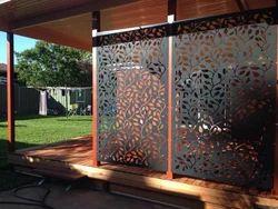 Corten Steel Decorative Screen