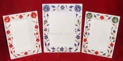 Marble Stone Inlay Picture Frame