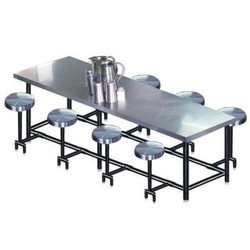 SS Rectangular Cafeteria Table