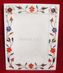 Marble Stone Inlaid Decorative Photo Frame