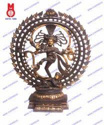 Natraj Tripple Ring & Om Design Statue
