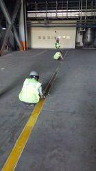 Yellow Line Marking Paint