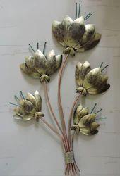 Metal Flower Wall Decoration