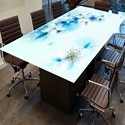 Digital Printed Glass For Table Top