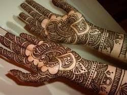 Henna Cones Harmless Painless Tattoo Making