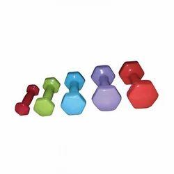 Hexagon Vinyl Dumbbells