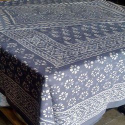 Dabu Print Bedsheet With 2 Pillow Covers