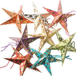 Set of Eight Stars in Round Pack - Size TINY 3