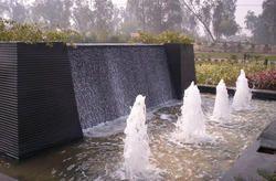 Outdoor Foam Jet Fountain