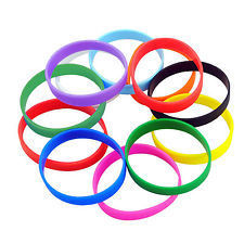 Adult Size Silicone Wristbands