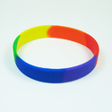 Multi Color Silicone Wristband