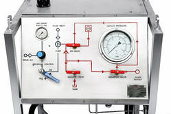 Chart Recorder Hydrotest Test Pump System