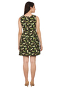 Animal Print Short Dress
