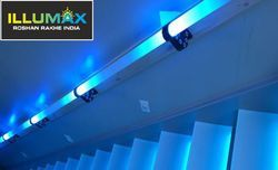 Acrylic LED Stair Railing
