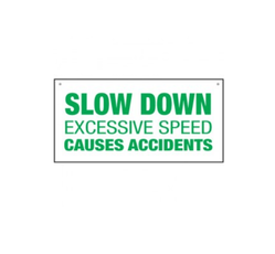 Slow Down Bulk Warehouse Signs