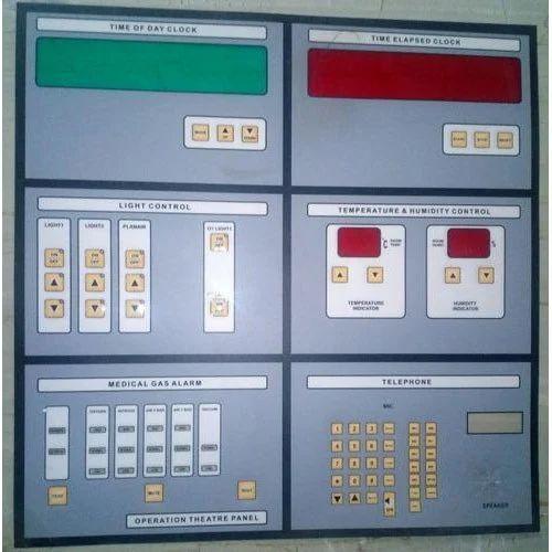 Polycarbonate OT Control Panel Sticker