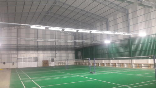 Indoor Badminton Court Shed Badminton Court Construction