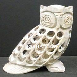 Soapstone Undercut Beautiful Owl