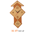 Hut Shape Wall Clock
