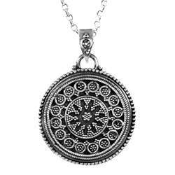 High Work Quality 925 Sterling Silver Pendant