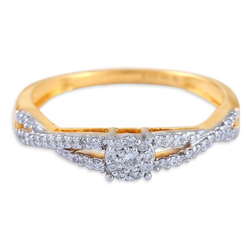 cute ring rings metal engagement amewunj wedding white tanishq diamond floral promise