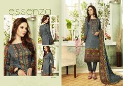 Pure Pashmina Printed Suit