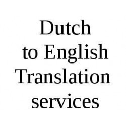 Dutch To English Translation Service