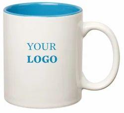 Promotional Inside Light Blue Color Mug