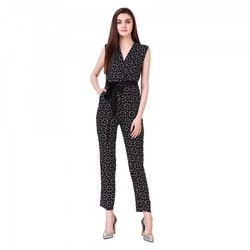 Black and White Designer Jumpsuit Dress