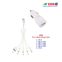 CC 50 Multi 101 White Car Charger