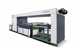 ET-SP01 Non-Woven Automatic Single Color Roll to Roll Non-Woven Fabric Screen Printing Machine