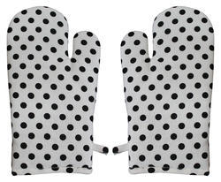 Dot Print Kitchen Glove