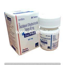 DECIHEP - Daclatasvir Dihydrochloride Tablet