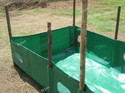 Vermi Compost Making Beds