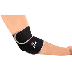 Elbow Support Adjustable size, Made of Breathable Neoprene Quality Material, Black