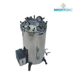 Vertical Cylindrical Type Steam Sterilizer Pressure Type