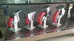 8x2 Spring Loaded Castors Wheels