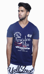 Trendy V- Neck T Shirt