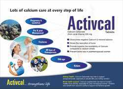 Calcicum Carbonate (From Coral Grains) 225 MG