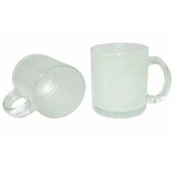 11oz  Frosted Glass Mug